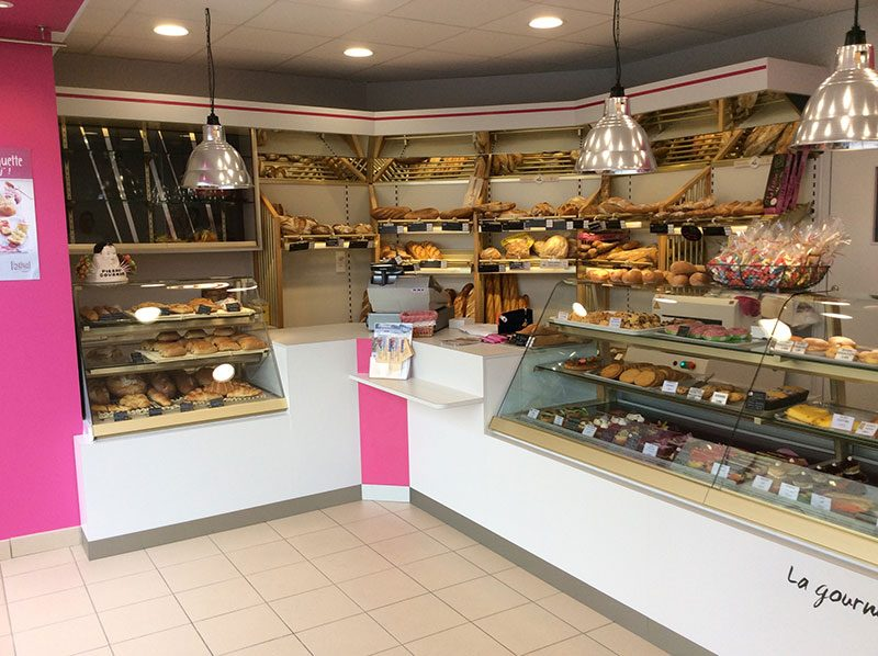 Relooking boulangerie evelyne d co - Decoration boulangerie patisserie ...