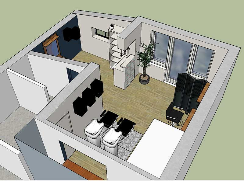 projet 3D relooking