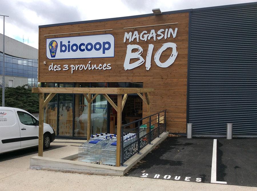 enseigne biocoop