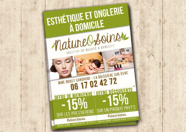 creation graphique flyer