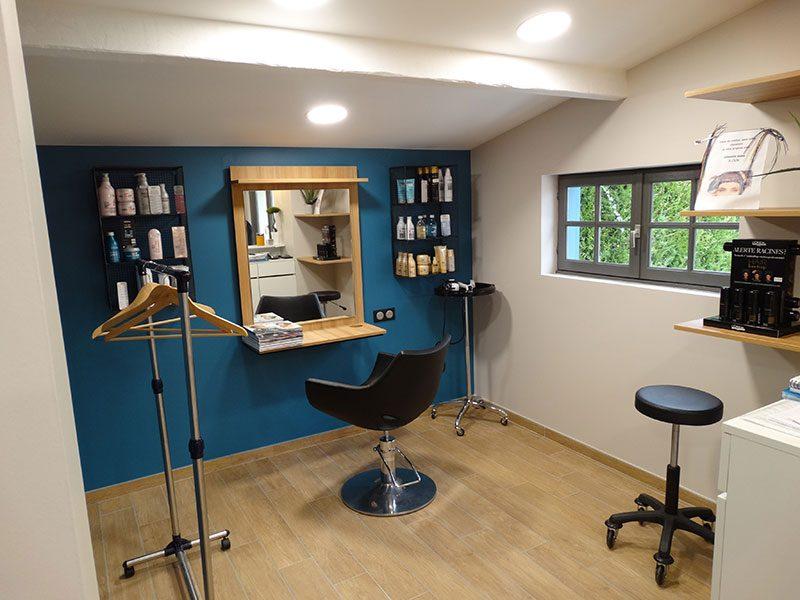 relooking salon de coiffure